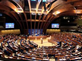 Das Plenum der Parlamentarischen Versammlung des Europarats