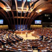Das Plenum der Parlamentarischen Versammlung des Europarats in Straßburg